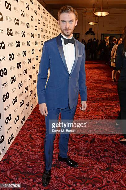 Dan Stevens attends the GQ Men Of The Year awards in association with Hugo Boss at The Royal Opera House on September 2 2014 in London England