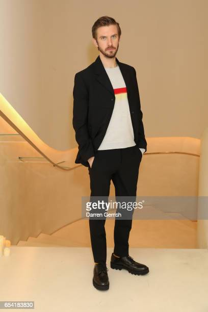 Dan Stevens attends the launch of Christopher Kane and Disney's Beauty And The Beast capsule on March 16 2017 in London England
