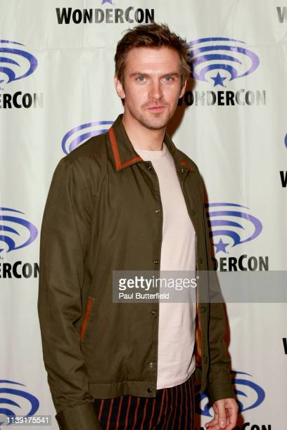 Dan Stevens attends the Legion press line during WonderCon 2019 at Anaheim Convention Center on March 29 2019 in Anaheim California