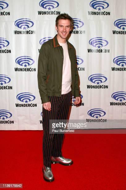 Dan Stevens attends the Legion press line during WonderCon 2019 at Anaheim Convention Center on March 29 2019 in Anaheim California