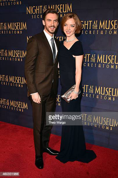 "Dan Stevens attends the ""Night At The Museum: Secret Of The Tomb"" New York Premiere at Ziegfeld Theater on December 11, 2014 in New York City."