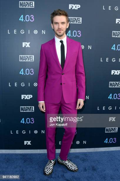 Dan Stevens attends the premiere of FX's 'Legion' Season 2 at DGA Theater on April 2 2018 in Los Angeles California