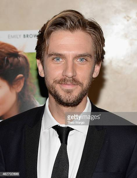 Dan Stevens attends the Summer In February premiere at Sotheby's on January 14 2014 in New York City