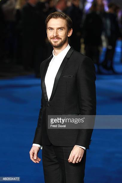 Dan Stevens attends the UK Premiere of Night At The Museum Secret Of The Tomb at Empire Leicester Square on December 15 2014 in London England