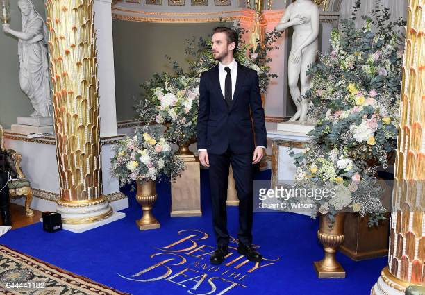 Dan Stevens attends UK launch event for Disney's 'Beauty And The Beast' at Spencer House on February 23 2017 in London England