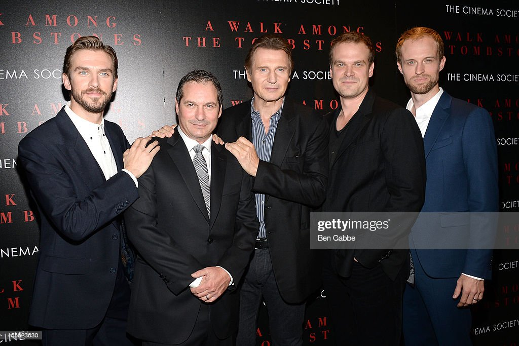 """Universal Pictures And Cross Creek Pictures With The Cinema Society Host A Screening Of """"A Walk Among The Tombstones"""""""