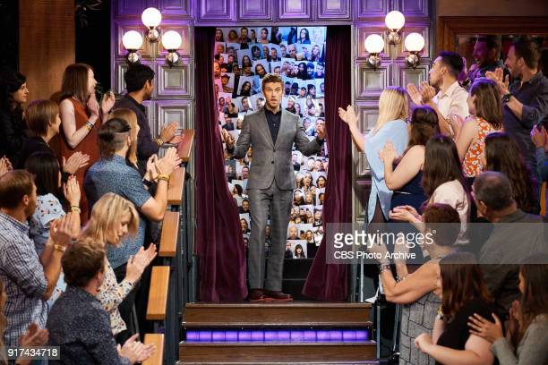 Dan Stevens greets the audience during 'The Late Late Show with James Corden' Thursday February 8 2018 On The CBS Television Network