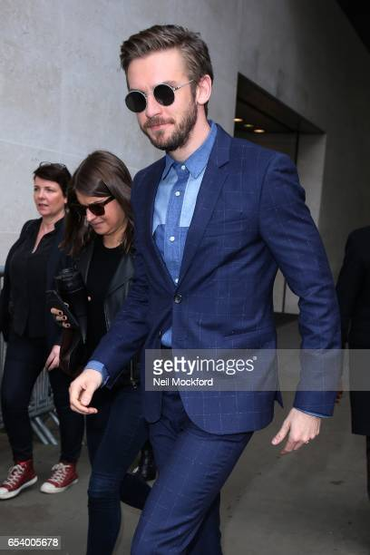 Dan Stevens seen at BBC Radio One on March 16 2017 in London England