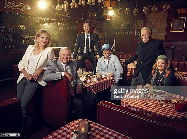 Dan Tana's regulars Cameron Diaz and former LA Laker Jerry West Diaz's agent CAA's Nick Styne and manager LBI Entertainment's Rick Yorn and producer...