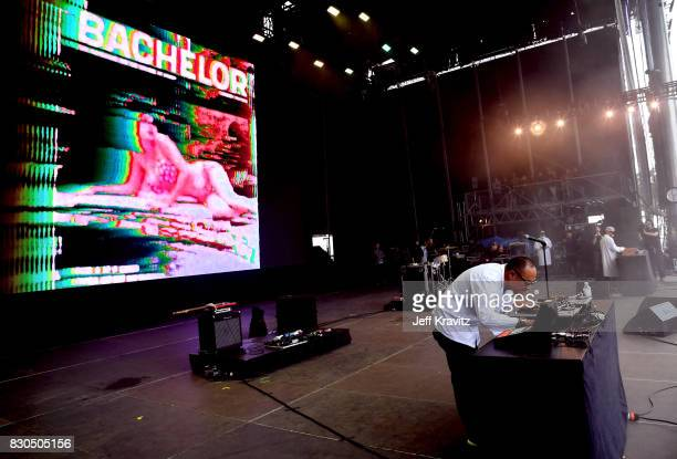 Dan the Automator and DJ Qbert perform with Dr Octagon on Lands End Stage during the 2017 Outside Lands Music And Arts Festival at Golden Gate Park...