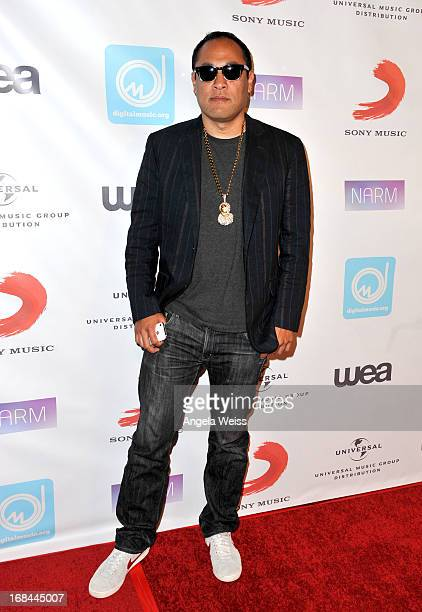 Dan the Automator attends the 2013 Music Biz Awards presented by NARM and digitalmusicorg at the Hyatt Regency Century Plaza on May 9 2013 in Century...