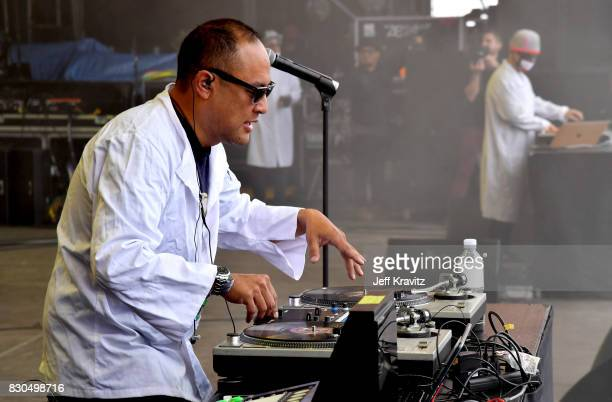 Dan the Automator of Dr Octagon performs on Lands End Stage during the 2017 Outside Lands Music And Arts Festival at Golden Gate Park on August 11...