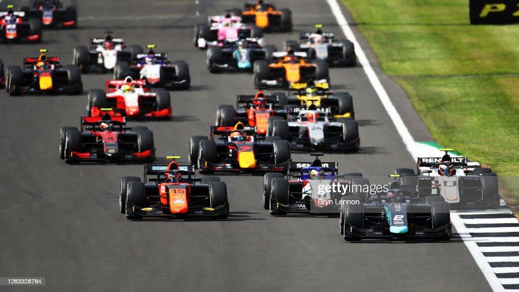 Formula 2 Championship - Round 4:Silverstone - Sprint Race : News Photo