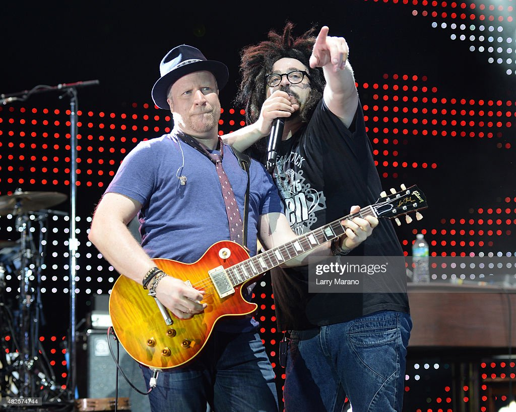 Counting Crows Perform At Bayfront Amphitheatre