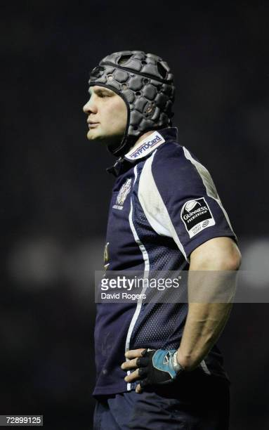 Dan WardSmith of Bristol pictured during the Guinness Premiership match between Bristol and Bath at Ashton Gate on December 27 2006 in Bristol United...