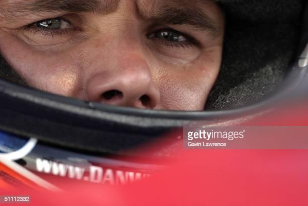 Dan Wheldon driver of the Andretti Green Racing Jim Beam/Klein Tools Honda Dallara during practice for the Indy Racing League IndyCar Series Menards...