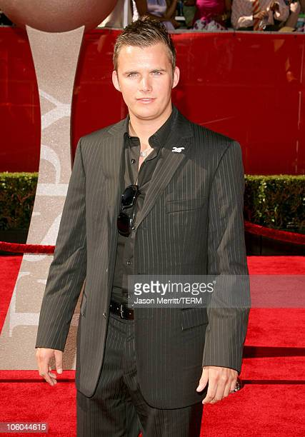 Dan Wheldon during 2006 ESPY Awards Arrivals at Kodak Theatre in Hollywood CA United States