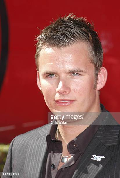 Dan Wheldon during 2006 ESPY Awards Arrivals at Kodak Theatre in Los Angeles California United States