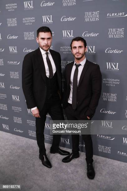 Dan White and Jonathan Bayme during the WSJ Magazine 2017 Innovator Awards at Museum of Modern Art on November 1 2017 in New York City