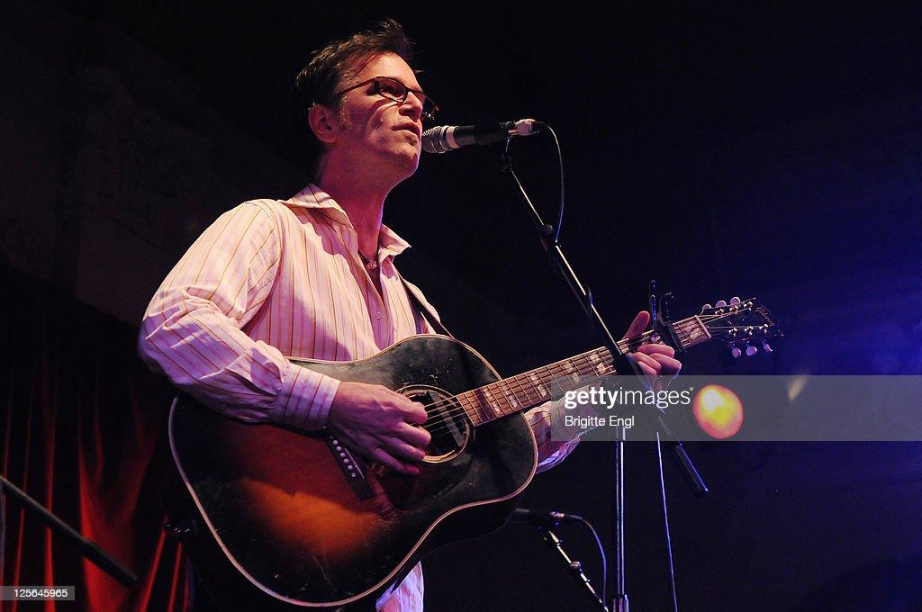 Dan Wilson Performs At Bush Hall In London
