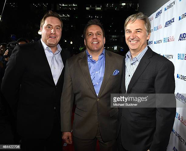Dan York Chief Content Officer DirecTV Chris Long SVP Original Content and Production DirecTV and Bart Peters VP Development and Production DirecTv...