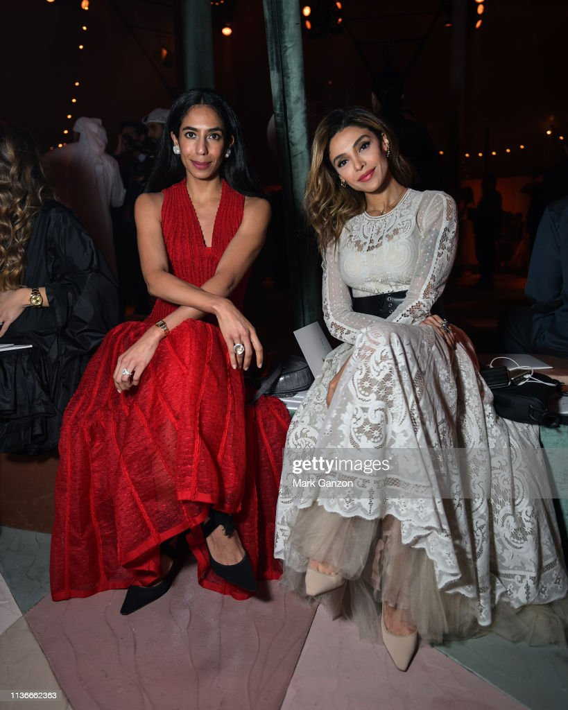 ARE: Christian Dior Haute Couture Spring Summer 2019 Collection - Front Row