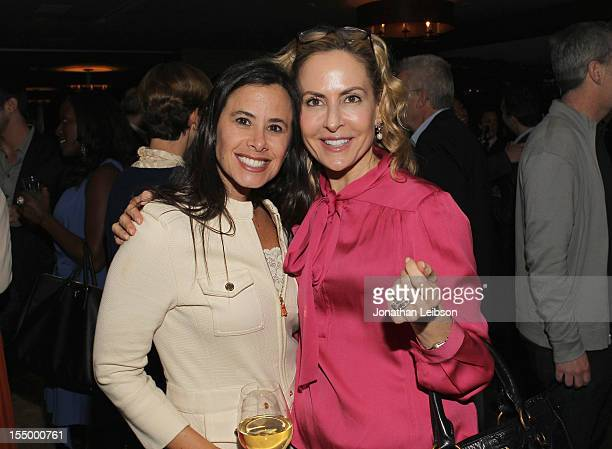 Dana Archer of DDA PR and Brooke Turpin of Variety attend Variety's Hollywood's New Leaders presented by Ciroc Vodka at Soho House on October 29 2012...