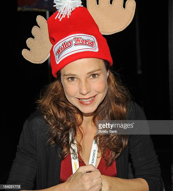 Dana Barron attends the 2012 New York Comic Con at the Javits Center on October 12 2012 in New York City