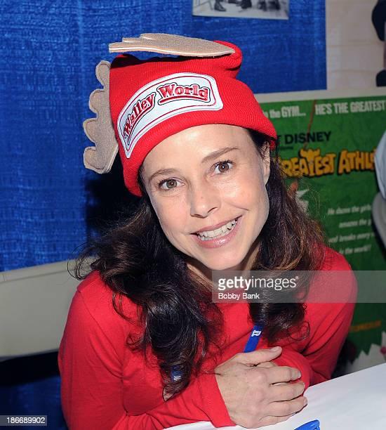 Dana Barron attends the 2013 Rhode Island Comic Con at Rhode Island Convention Center on November 2 2013 in Providence Rhode Island