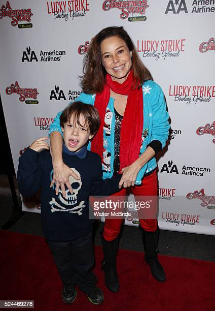 Dana Barron Taylor Barron Vickerman attending the Broadway Opening Night Performance for 'A Christmas Story The Musical' at the Lunt Fontanne Theatre...