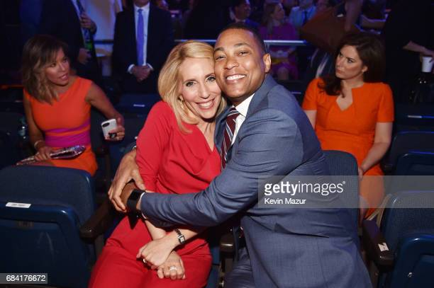 Dana Bash and Don Lemon attend the Turner Upfront 2017 show at The Theater at Madison Square Garden on May 17 2017 in New York City 26617_005