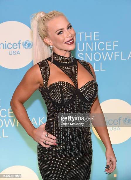 Dana Brooke of the WWE attends the UNICEF USA's 14th Annual Snowflake Ball at Cipriani Wall Street on November 27, 2018 in New York City.