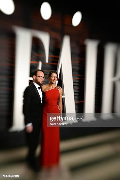 Dana Brunetti arrives to the Vanity Fair Party following the 88th Academy Awards at The Wallis Annenberg Center for the Performing Arts in Beverly...