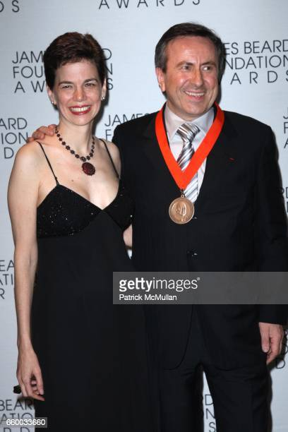 Dana Cowin and Daniel Boulud attend The 2009 JAMES BEARD FOUNDATION AWARDS at Avery Fisher Hall at Lincoln Center on May 4 2009 in New York City