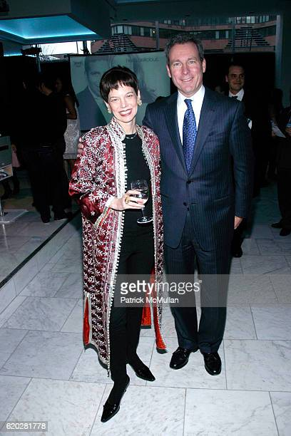 Dana Cowin and John Hayes attend FOOD WINE MAGAZINE Celebrates 20th Anniversary of Best New Chefs at espace on April 3 2008 in New York City
