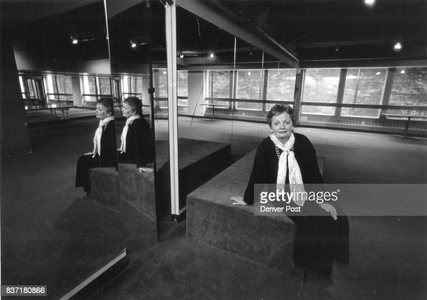 Dana Crawford in the aerobics room of the Oxford Club Credit The Denver Post
