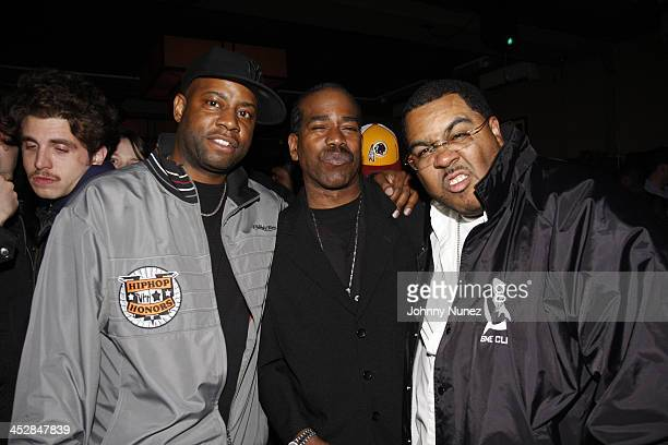 Dana Dane Curtis Blow and Teddy Ted attend Vaughn Anthony's Birthday Bash Hosted by John Legend on May 22 2008 in New York City