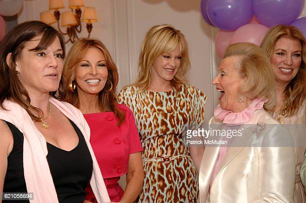 Dana Davis Raquel Welch Melanie Griffith and Barbara Davis attend The Kickoff Luncheon for the Carousel of Hope at Beverly Hills Hotel on May 20 2008...