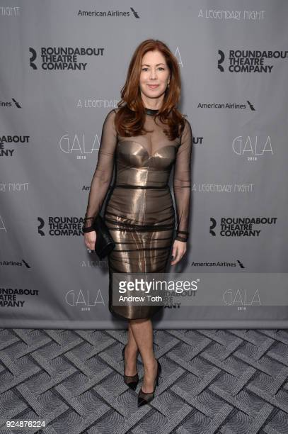 Dana Delaney attends the Roundabout Theatre Company's 2018 Gala at The Ziegfeld Ballroom on February 26 2018 in New York City
