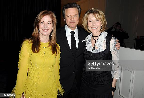Dana Delaney Colin Firth and Susan Blakely attends AARP The Magazine's 10th Annual Movies For Grownups Awards at the Beverly Wilshire Four Seasons...