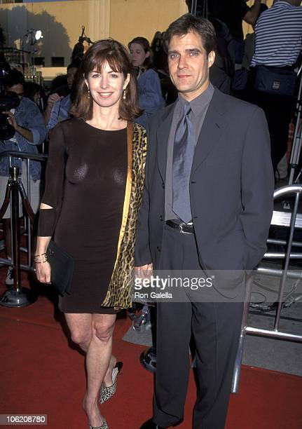 Dana Delany and Henry Czerny during Premiere of 'Mission Impossible' at Mann Bruin Theatre in Westwood California United States