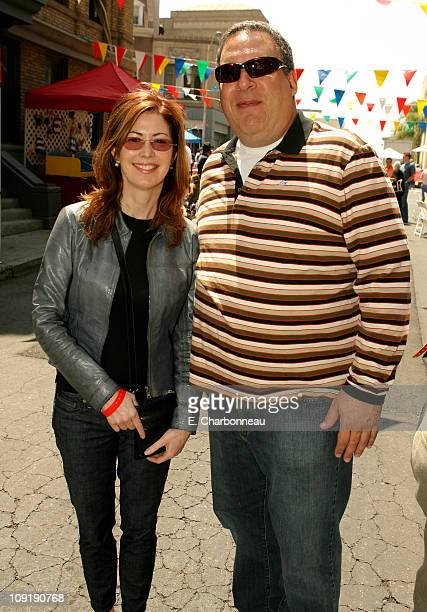 """Dana Delany and Jeff Garlin during The 6th Annual Project A.L.S. Los Angeles Benefit """"New York City Block Party"""" At Paramount Pictures Sponsored by..."""