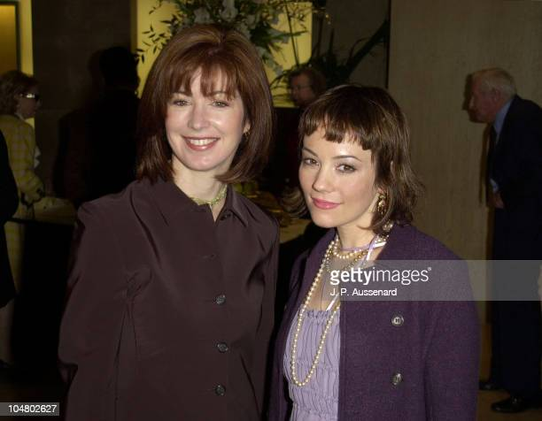 Dana Delany and Natasha Gregson Wagner during Golden Apple Awards Luncheon at Beverly Hilton Hotel in Beverly Hills California United States