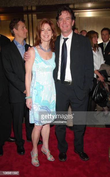 Dana Delany and Timothy Hutton during NBC 2006-2007 Primetime Upfront at Radio City Music Hall in New York City, New York, United States.
