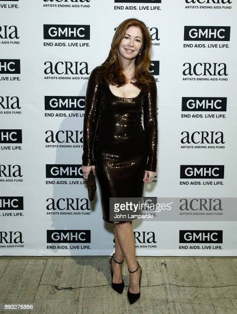 Dana Delany attends ACRIA's 22nd annual holiday dinner at Cipriani 25 Broadway on December 14 2017 in New York City