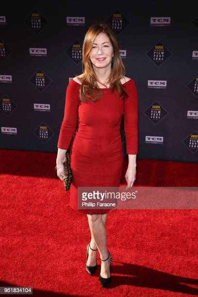 Dana Delany attends the 2018 TCM Classic Film Festival Opening Night Gala 50th Anniversary World Premiere Restoration of The Producers at TCL Chinese...