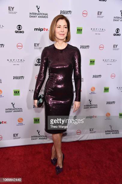 Dana Delany attends the 46th Annual International Emmy Awards Arrivals at New York Hilton on November 19 2018 in New York City