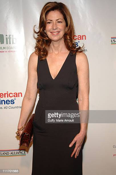 Dana Delany attends the 5th Annual 'Oscar Wilde Honoring Irish In Film' PreAcademy Awards Cocktail at The Wilshire Ebell Theatre on March 4 2010 in...