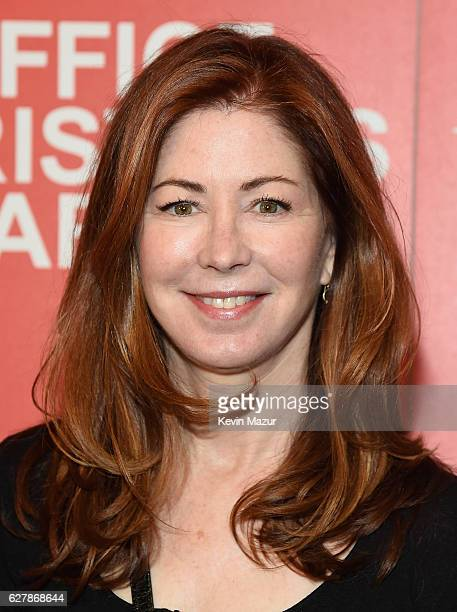 Dana Delany attends the Paramount Pictures with The Cinema Society Svedka host a screening of 'Office Christmas Party' at Landmark Sunshine Cinema on...