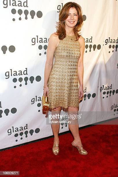 Dana Delany during 18th Annual GLAAD Media Awards New York Red Carpet at Marriott Marquis at 1535 Broadway at 45th Street in New York City New York...